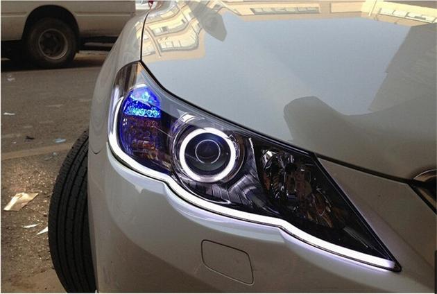 Profesjonalny komplet świateł Led DRL FLEX z funkcją kierunkowskazu